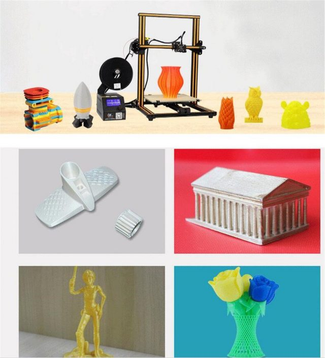 Sample Creality 3D Printer Projects