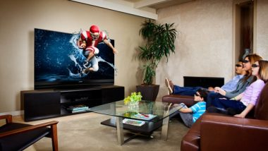Watching 3D TV at Home